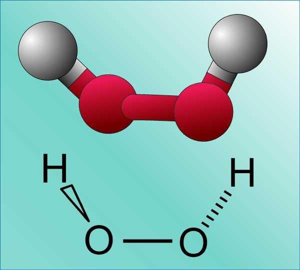 формула перекиси водорода