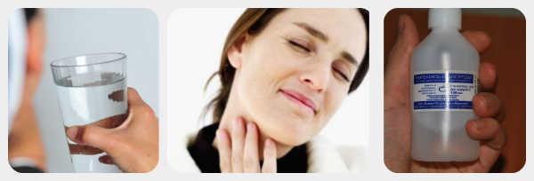 Можно ли полоскать рот перекисью водорода и как это делать